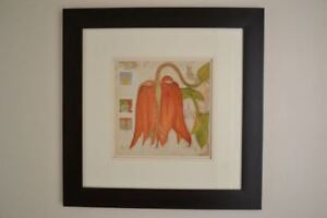 Wall Decor/Art: Framed Floral Prints and More