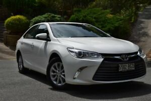 2015 Toyota Camry ASV50R Altise White 6 Speed Sports Automatic Sedan St Marys Mitcham Area Preview