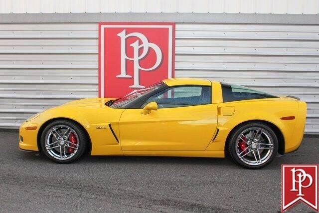 2006 Yellow Chevrolet Corvette Z06  | C6 Corvette Photo 6