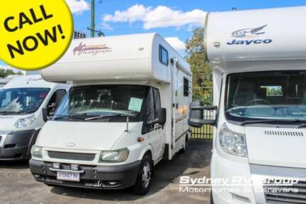 U3689 Ford Transit Swagman 4 Berth With Great Layout
