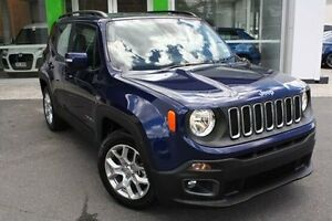 2016 Jeep Renegade BU MY16 Longitude DDCT Blue 6 Speed Sports Automatic Dual Clutch Hatchback Mount Gravatt Brisbane South East Preview