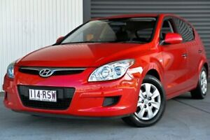 2009 Hyundai i30 FD MY09 SX Red 4 Speed Automatic Hatchback Hendra Brisbane North East Preview