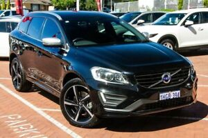 2015 Volvo XC60 DZ MY16 D5 Geartronic AWD R-Design Black 6 Speed Sports Automatic Wagon Myaree Melville Area Preview