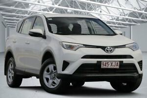 2017 Toyota RAV4 ZSA42R MY17 GX (2WD) White Continuous Variable Wagon Eagle Farm Brisbane North East Preview