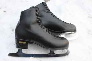 Risport leather Men's ice figure skates size 285 or US 9 9 ½ mad