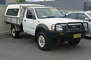 2006 Nissan Navara D22 MY2003 DX White 5 Speed Manual Cab Chassis Main Beach Gold Coast City Preview