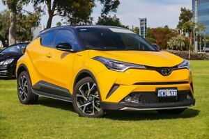 2017 Toyota C-HR NGX50R Koba S-CVT AWD Yellow 7 Speed Constant Variable Wagon