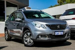 2017 Peugeot 2008 A94 MY17 Active Grey 6 Speed Sports Automatic Wagon Victoria Park Victoria Park Area Preview