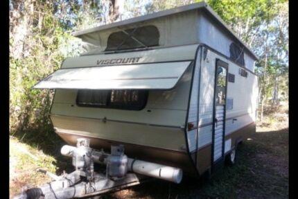 Viscount Regency Pop Top Caravan bunks Sunrise Beach Noosa Area Preview