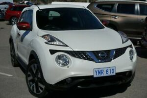 2016 Nissan Juke F15 Series 2 Ti-S X-tronic AWD N-SPORT Snow Storm 1 Speed Constant Variable Phillip Woden Valley Preview