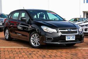 2012 Subaru Impreza G4 MY12 2.0i Lineartronic AWD Black 6 Speed Constant Variable Hatchback Rockingham Rockingham Area Preview
