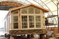 Canadian Built 4 season park models, BUILT IN ALBERTA