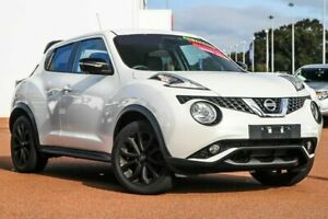 2015 Nissan Juke F15 Series 2 Ti-S X-tronic AWD White 1 Speed Constant Variable Hatchback Rockingham Rockingham Area Preview
