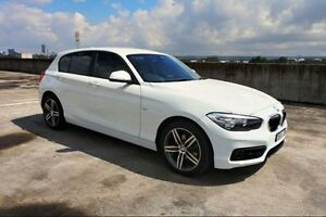 2015 BMW 118d F20 LCI Sport Line White Sports Automatic Hatchback Haymarket Inner Sydney Preview