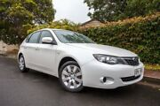 2007 Subaru Impreza S MY07 R AWD White 5 Speed Manual Hatchback Hove Holdfast Bay Preview