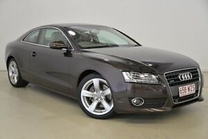 2010 Audi A5 8T MY11 S tronic quattro Brown 7 Speed Sports Automatic Dual Clutch Coupe Mansfield Brisbane South East Preview