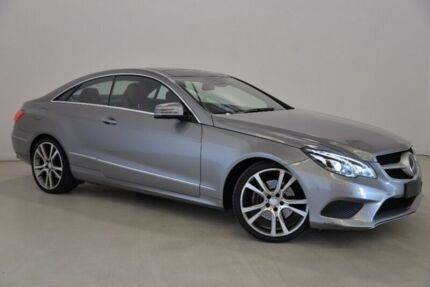 2013 Mercedes-Benz E250 CDI C207 MY13 7G-Tronic + Silver 7 Speed Sports Automatic Coupe