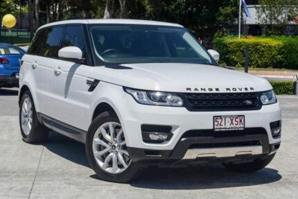 2013 Land Rover Range Rover Sport L494 MY14 SDV6 CommandShift SE White 8 Speed Sports Automatic Southport Gold Coast City Preview