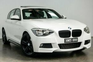 2014 BMW 1 Series F20 MY0713 125i M Sport White 8 Speed Sports Automatic Hatchback South Melbourne Port Phillip Preview