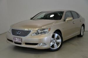 2008 Lexus LS460 USF40R USF40R Gold 8 Speed Sports Automatic Sedan Mansfield Brisbane South East Preview