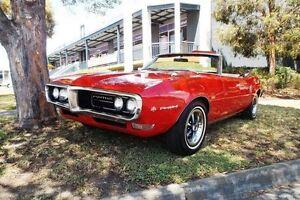 1968 Pontiac Firebird  Red Automatic Melbourne CBD Melbourne City Preview