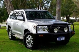 2009 Toyota Landcruiser VDJ200R GXL Silver 6 Speed Sports Automatic Wagon Myaree Melville Area Preview