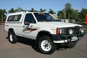 1986 Nissan Navara DX White Manual Utility Townsville Townsville City Preview