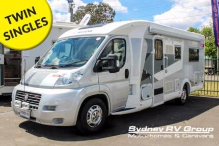2013 Avida Eyre, Beautiful Twin Single Beds LOW KM's - U3620