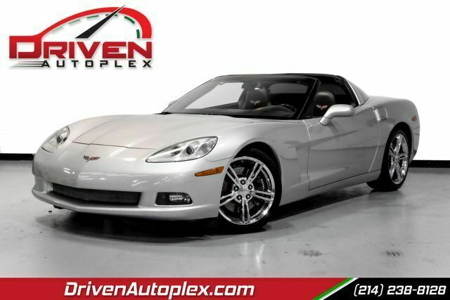 2008 Silver Chevrolet Corvette Coupe  | C6 Corvette Photo 1