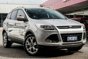 2013 Ford Kuga TF Trend PwrShift AWD Silver 6 Speed Sports Automatic Dual Clutch Wagon Osborne Park Stirling Area Preview