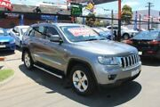 2012 Jeep Grand Cherokee WK MY12 Laredo (4x4) Grey 5 Speed Automatic Wagon West Footscray Maribyrnong Area Preview