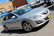 2011 Mazda 6 GH MY11 Sport Diesel Silver 6 Speed Manual Hatchback Hamilton Newcastle Area Preview