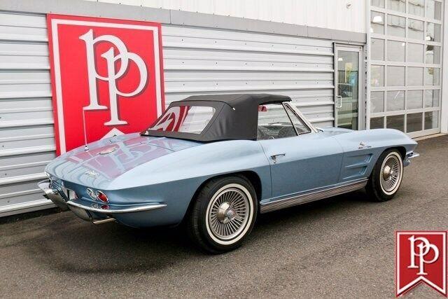 1963 Blue Chevrolet Corvette Convertible  | C2 Corvette Photo 5