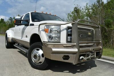 2011 Ford F-350 King Ranch 2011 Ford F350SD King Ranch 92849 Miles White Pickup Truck 8 Automatic