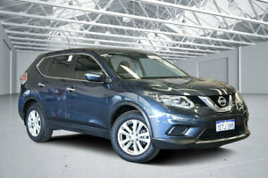 2015 Nissan X-Trail T32 ST (4x4) Tempest Blue Continuous Variable Wagon