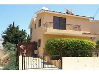 Cyprus, Paphos 3 bedroom villa with private pool in touristic area