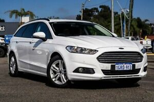 2018 Ford Mondeo MD 2018.75MY Ambiente PwrShift White 6 Speed Sports Automatic Dual Clutch Wagon Maddington Gosnells Area Preview