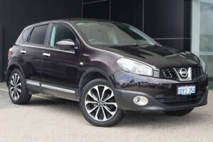 2012 Nissan Dualis J10W Series 3 MY12 Ti-L Hatch 2WD Black 6 Speed Manual Hatchback Wangara Wanneroo Area Preview