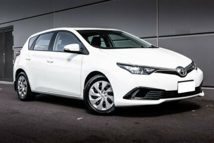 2017 Toyota Corolla ZRE182R Ascent S-CVT White 7 Speed Constant Variable Hatchback Maddington Gosnells Area Preview