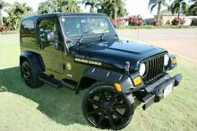 2005 Jeep Wrangler TJ MY2006 Golden Eagle Black 6 Speed Manual Softtop Townsville Townsville City Preview