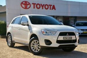 2013 Mitsubishi ASX XB MY13 2WD White 6 Speed Constant Variable Wagon Wyong Wyong Area Preview