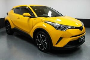 2017 Toyota C-HR NGX10R Koba S-CVT 2WD Yellow 7 Speed Constant Variable Wagon Hamilton East Newcastle Area Preview