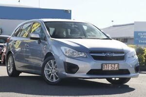 2013 Subaru Impreza G4 MY13 2.0i Lineartronic AWD Ice Silver 6 Speed Constant Variable Hatchback Rocklea Brisbane South West Preview