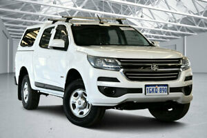 2017 Holden Colorado RG MY17 LS (4x2) Summit White 6 Speed Automatic Crew Cab Pickup Perth Airport Belmont Area Preview