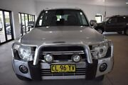 2010 Mitsubishi Pajero NT MY11 RX Silver 5 Speed Sports Automatic Wagon Port Macquarie Port Macquarie City Preview