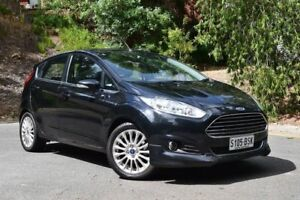 2014 Ford Fiesta WZ Sport Black 5 Speed Manual Hatchback St Marys Mitcham Area Preview