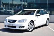 2012 Holden Commodore VE II MY12 Equipe Sportwagon White 6 Speed Sports Automatic Wagon Cardiff Lake Macquarie Area Preview