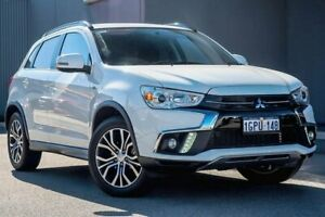 2018 Mitsubishi ASX XC MY18 LS 2WD White 6 Speed Constant Variable Wagon Osborne Park Stirling Area Preview