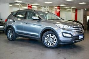 2013 Hyundai Santa Fe DM MY14 Active Silver 6 Speed Sports Automatic Wagon