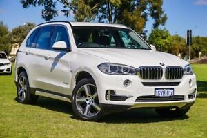 2015 BMW X5 F15 xDrive30d White 8 Speed Sports Automatic Wagon Burswood Victoria Park Area Preview